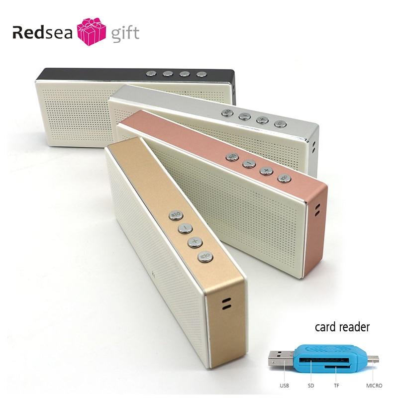 Altavoz Bluetooth Estéreo portátil Mini altavoz Micro-SD Aux-in - Audio y video portátil