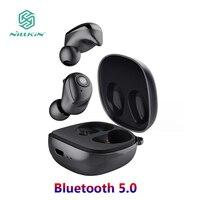 Nillkin Bluetooth 5.0 Fones De Ouvido IR TWS Gaming Headset Esportes Fone de ouvido Fones de Ouvido Fones De Ouvido Handsfree Fone de ouvido Sem Fio À Prova D' Água Cabos flexíveis de celular     -