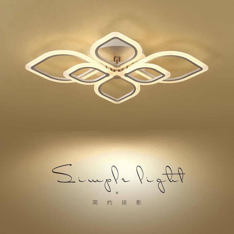 سقف ليد حديث أضواء لغرفة المعيشة أضواء الدفء غرفة نوم مصباح plafon إضاءة منزلية led led مصباح السقف تركيبات إضاءة