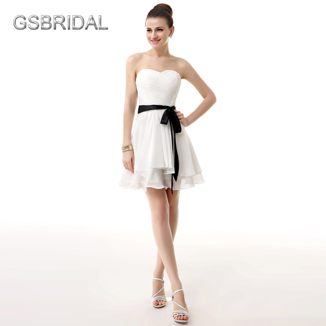 Белый атласный пояс для платья