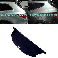 For Hyundai Santa Fe Sport XL 2013 2014 2015 2017 2018 Car Styling Black Rear Trunk Cargo Cover Security Shield