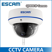 ESCAM QD800 WIFI Dome IP Camera Full 1080P IP66 Waterproof Onvif WebView IR Cut Night Vision Surveillance Camera