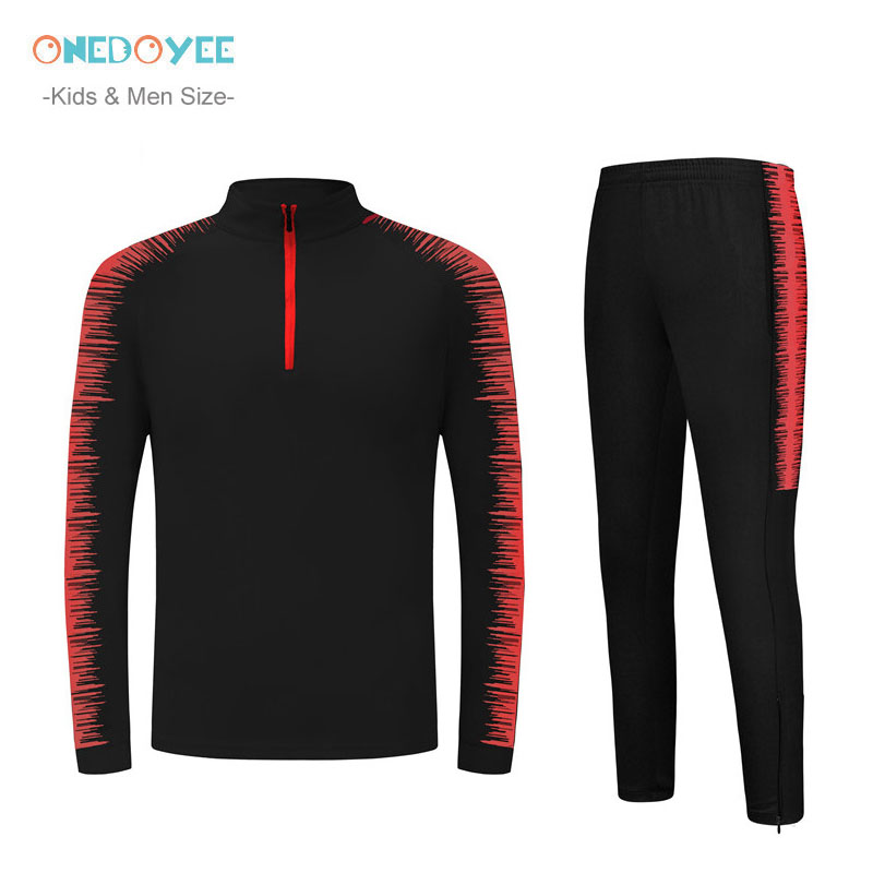 2019 Winter Football Tracksuits Men & Kids Long Sleeve Soccer Jerseys Children Outdoor Running Training Suits Players Sportswear sexy sports bra and leggings