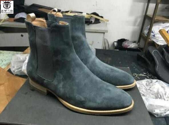 big discount men boots med heel booties