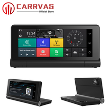 CARRVAS Android 5.0 GPS Navigator Car DVR Navigation 7 inch 3G/4G Bluetooth Camera with WIFI G-Sensor Player For