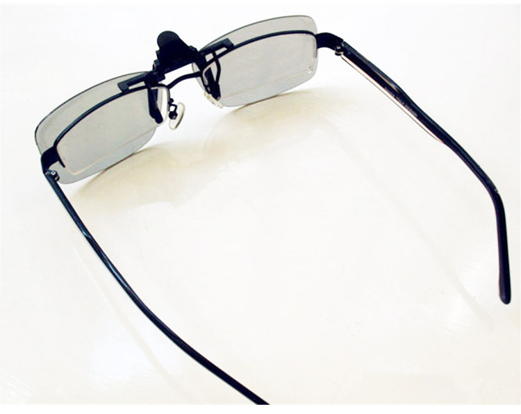 6713077bfe Selvte Clip on Polarized 3D Glasses for Prescription People Watching  Passive 3D TVs and RealD 3D Cinema System-in 3D Glasses  Virtual Reality  Glasses from ...