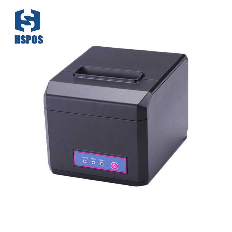 80mm Pos Thermal Printer Usb With Cutter High Print Speed Supermarket Receipt Printing Machine E81U