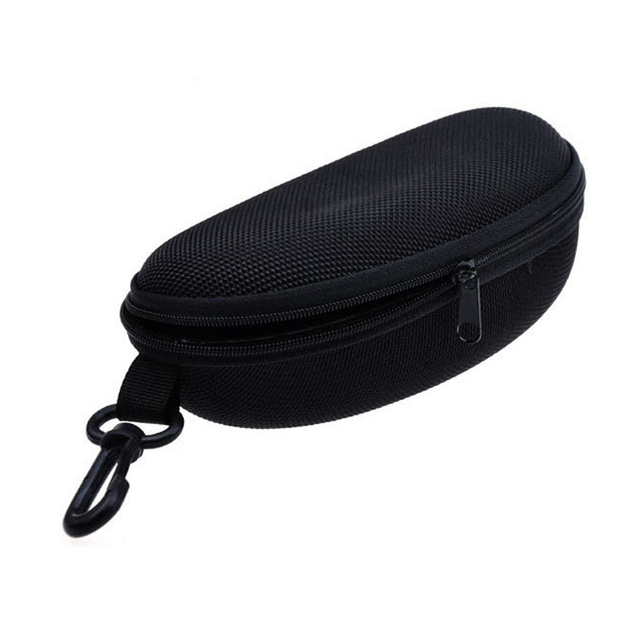 2b12000255 Peekaboo Retail Zipper Hard Black Sunglasses Case Spectacles Glasses Pouch  Bag Eyewear Box Glasses Cases sunglasses Case