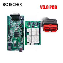10pcs Green PCB Quality A TCS CDP PRO PLUS NEW VCI Diagnostic Tools With Bluetooth For