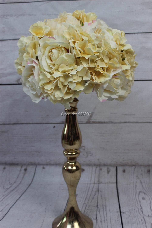 ✓SPR 2018 Hydrangea Peony Rose wedding road lead artificial flower ...