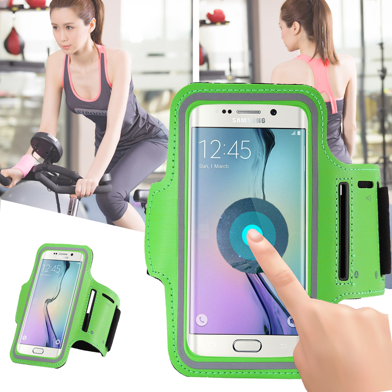 Running Arm Band Gym Sport Cell Phone Belt Pounch Pouch Workout Mobile Case Cover Bag Holder For Samsung Galaxy Core Prime J3 S4