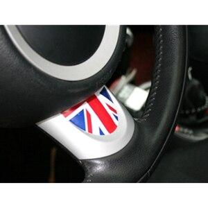 Image 4 - SLIVERYSEA Car Steering Wheel Semicircle Sticker For BMW Mini Cooper R53 R55 R57 R58 R59 R60 R50 R52 JCW F55 F56 #B1380