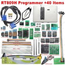 100 $ oryginalny RT809H EMMC Nand FLASH programista + 40 przedmioty emmc nand ISP usłyszeć jedną z adapter do kabla Tsop48 TSOP56 EDID darmowa wysyłka
