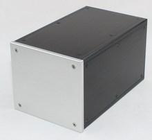 WA111 Aluminum enclosure Preamp chassis Power amplifier case/box size 250*156*140mm