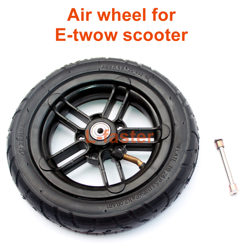 Inflated-Wheel Scooter E-Twow S2 Inner-Tube 8inch For M6 With 8-Wheelchair Can-Loading-100kg