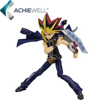 Anime Yu Gi Oh Duel Monsters ATEM Yugi Muto PVC 15cm Action Figure Fan Colletion Cartoon