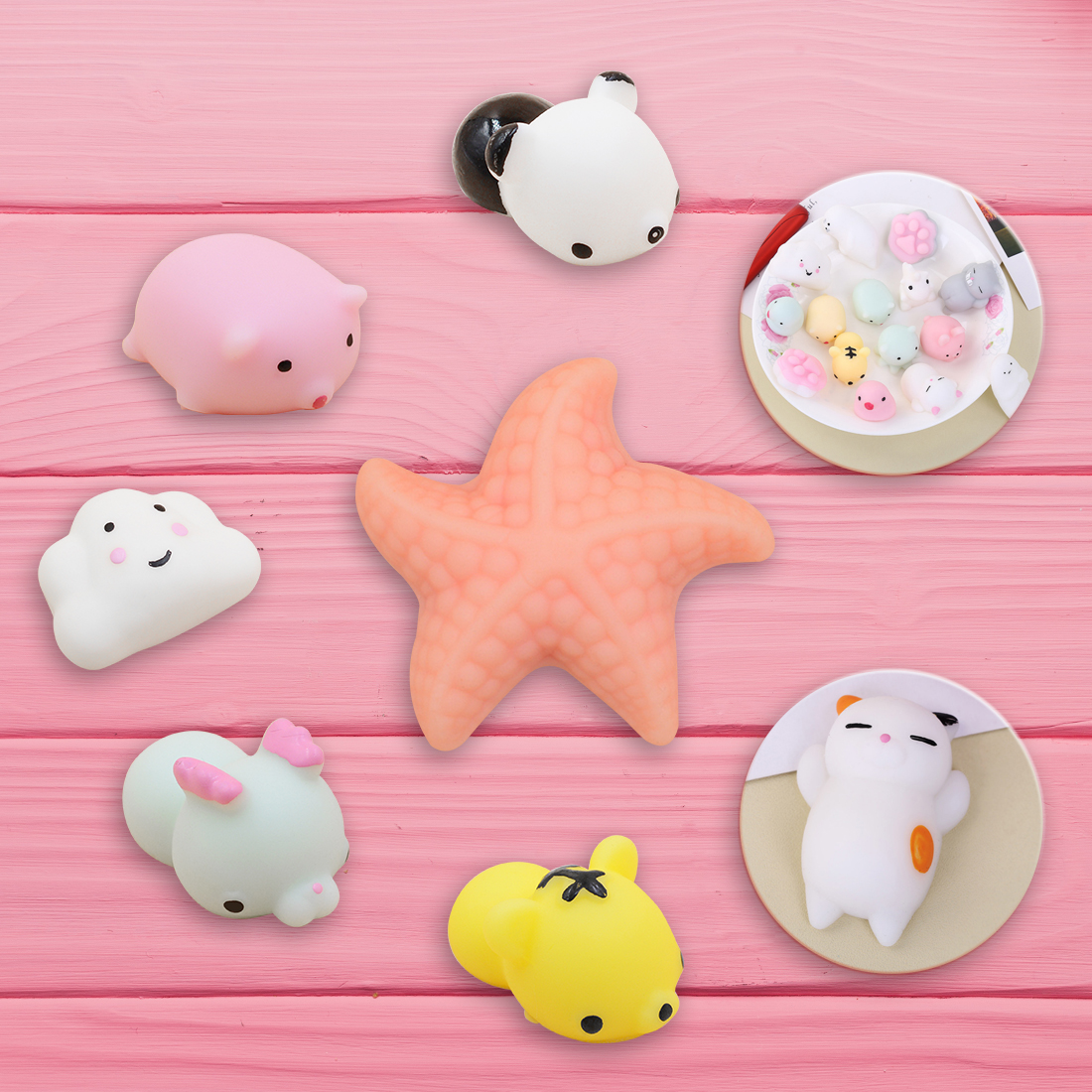 Etmakit Mini Squishy Seal Cute Phone Straps Slow Rising Soft Press Squeeze Kawaii Bread Cake Kids Toy Phone Diy Accessories Cellphones & Telecommunications