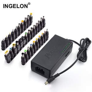 Ingelon 34pcs Universal Power Adapter 96W 12v to 24v Adjustable Portable Charger for Lenovo Dell Toshiba HP Asus Acer Laptops