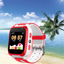 BANGWEI Children Smart Watch Digital Baby SOS Emergency Help LBS Positioning Tracker Card Large Capacity Battery+BOX