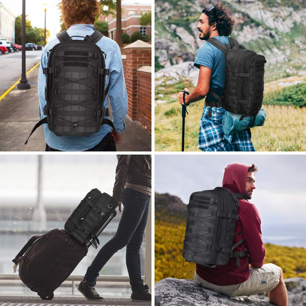 Outdoor Tactical Backpack Military (1)