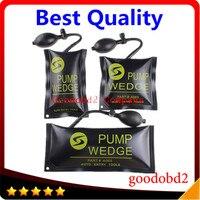 3 stks Zwart S/M/L Air Wedge Pomp Wedge Diagnostic Tools Opblaasbare Unlock Tool Airbag Voertuig Deur Tool 1 st S + 1 st M + 1 st L