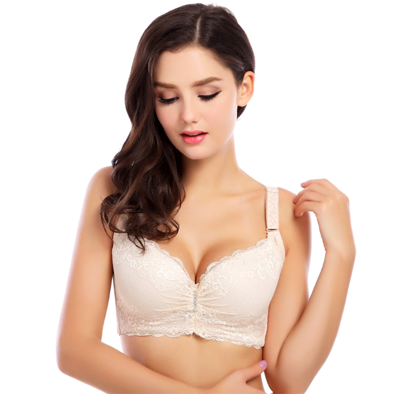 Adjustable Push-up Lace Bra