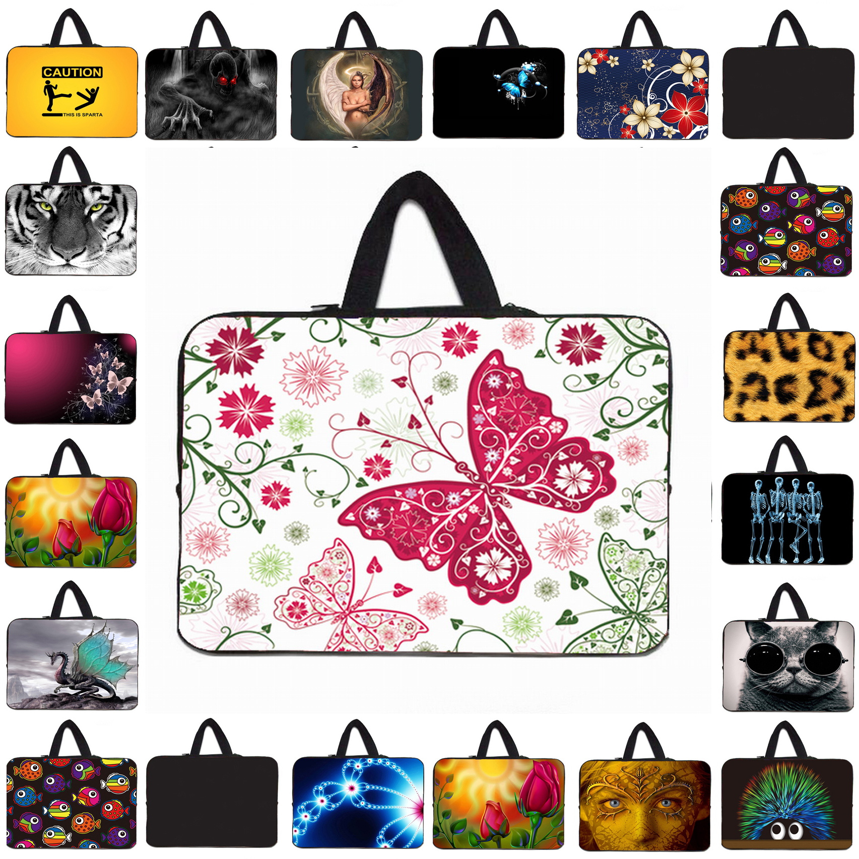 14 14.4 15.4 15.6 17 Notebook Slim Briefcase Fashion Tablet 10.1 12 13 Mini PC Protective Shell Cover Bags Netbook Inner Bags
