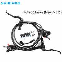 Shimano BR-BL-MT200 M315 hamulec rowerowy mtb hydrauliczny hamulec tarczowy zestaw zacisk hamulca rower górski aktualizacja z M315 hamulca