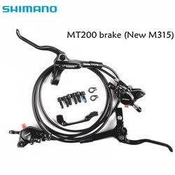 shimano BR BL MT200 M315 Brake bicycle bike mtb Hydraulic Disc Brake Set Clamp Mountain Bike Brake Update From M315 Brake mt200