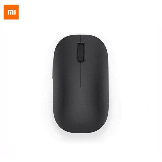 new original xiaomi mi mouse wireless mouse black 2 4ghz 1200dpi portable for macbook windows 8. Black Bedroom Furniture Sets. Home Design Ideas