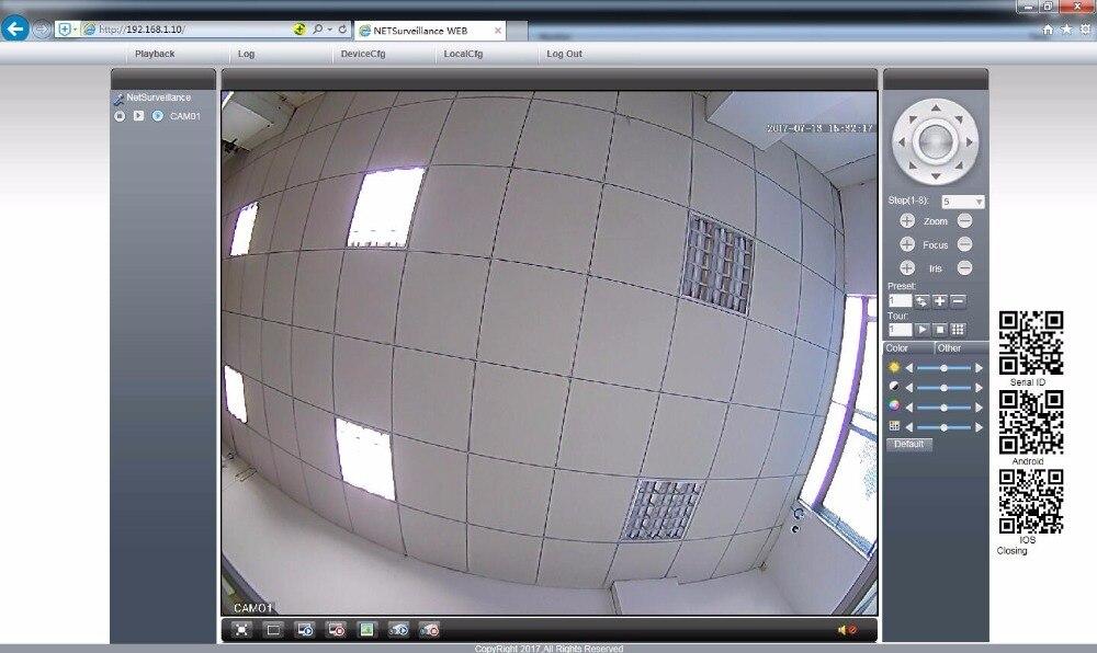 AZISHN Full HD 3MP SONY IMX307 sensor POE Security Dome Camera ONVIF H.265 IR Night Vision Outdoor Waterproof Surveillance Cam
