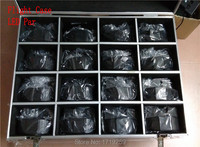 Flight Case With 16 Pieces Wireless Remote Control LED Par 7x12W RGBW 4IN1 LED Wash Uplighting