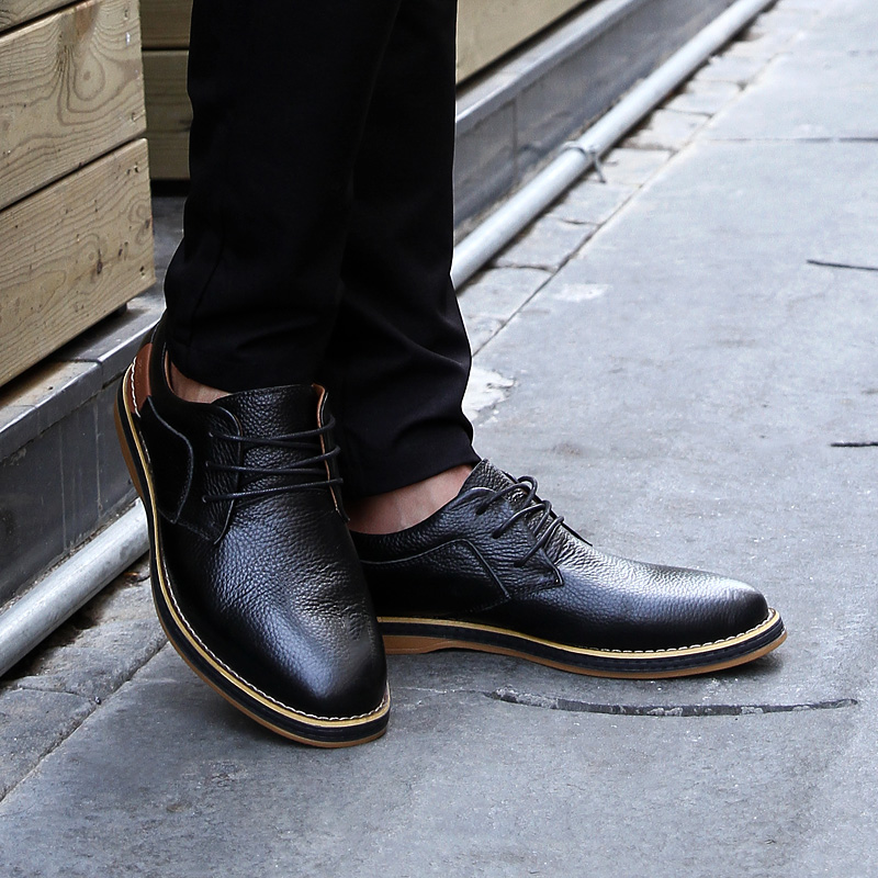 HTB1TR  c8Cw3KVjSZFlq6AJkFXa4 2019 New Men Oxford Genuine Leather Dress Shoes Brogue Lace Up Flats Male Casual Shoes Footwear Loafers Men Big Size 39-48