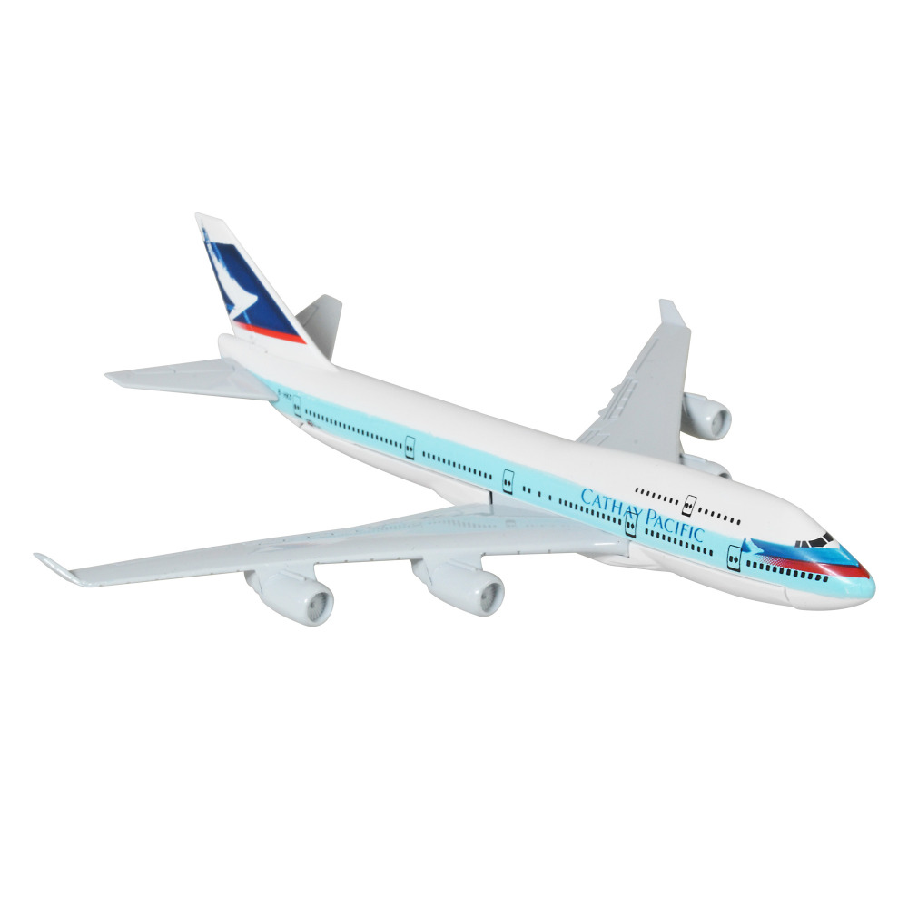 HongKong Cathay Pacific Airways Ltd 16cm Airplane Models Child Birthday Gift Chiristmas Plane Toys Free Shipping In Diecasts Toy Vehicles From