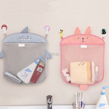 40 35cm Baby Bathroom Mesh Bag Child Bath font b Toy b font Bag Net Waterproof