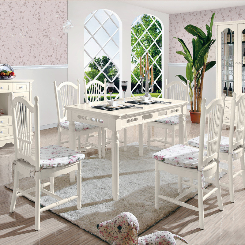 Newest Wholesale Korean Classic Style Dining Room Sets