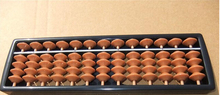 13 column plastic Abacus Chinese soroban Tool In Mathematics Education for student calculation tool xmf006