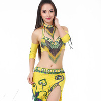 Decorations for belly dance bra silk veil armband ancient Egypt style Skirt dance orientale bollywood dance costumes