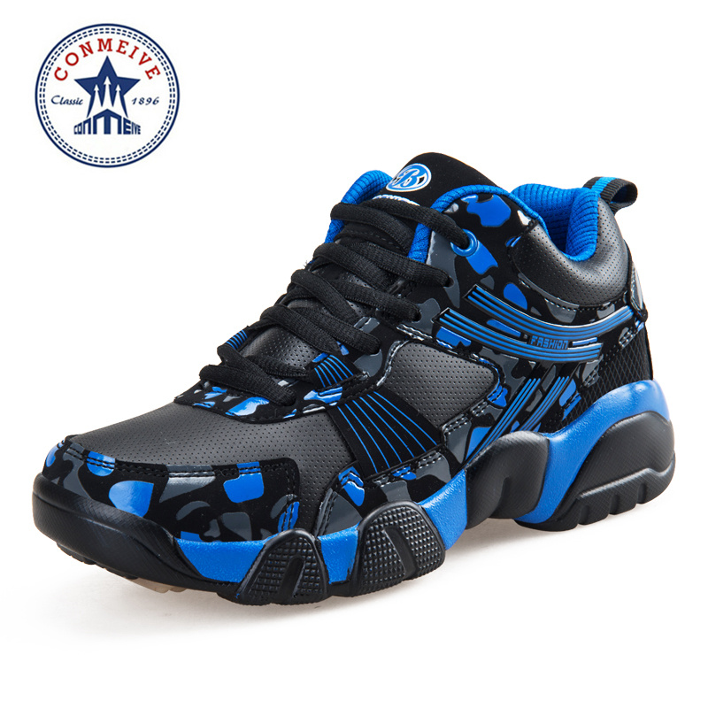 Promotion Pvc Floor Rubber Men's Basketball Shoes Breathable Anti-collision Technology Sneakers Men Sports Free Shipping