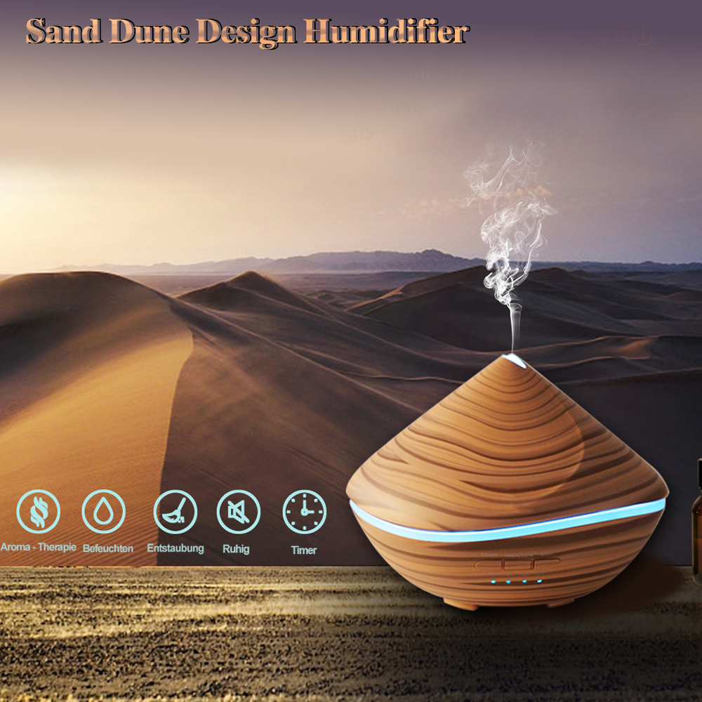 DCONG Humidifier Aroma Diffuser 500ml Essential Oil Diffuser Aromatherapy Aceites Esenciales Para Humificador Aircondtion