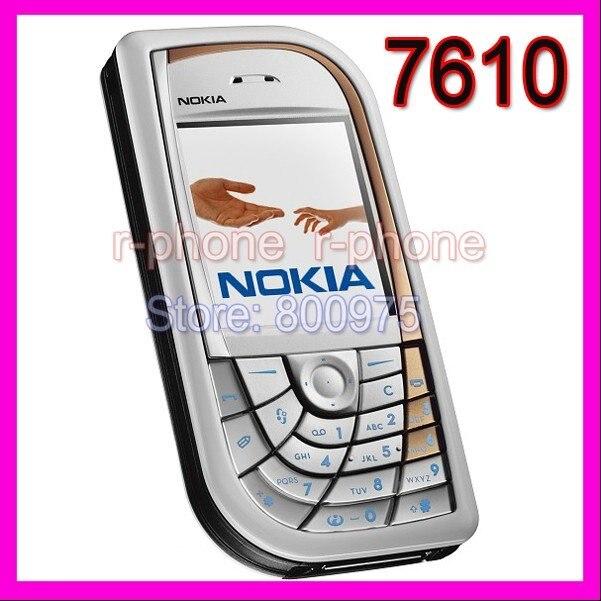 Цена за Восстановленное в Исходном Разблокирована Nokia 7610 Mobile Сотовый Телефон и Рекламная продукция!!! самые низкие цены!!! 7610