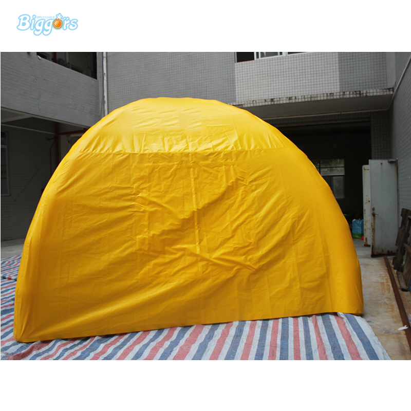 Customized logo inflatable four legs event promotion dome tent event