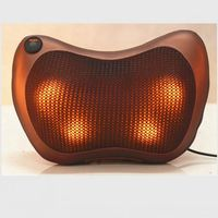 2017 Hot Sale Infrared Heating Double Beauty Body Neck Massage Relaxation Pillow Car Massager Cushion Seat