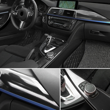Car Styling 50 x 200 CM DIY High Glossy 5D Carbon Fiber Vinyl Wrap Film Motorcyle Automobile Car Sticker And Decal Accessories