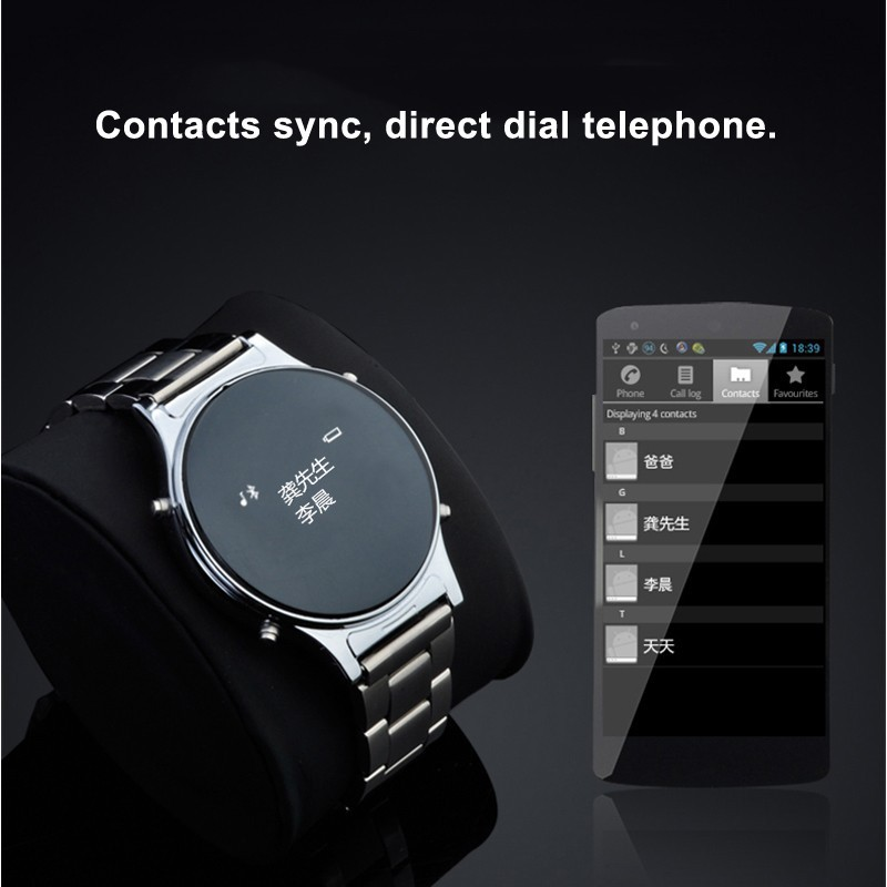 smart watch metal band