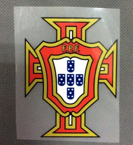 Portugal Logo Printed Soccer Patch 2015 2016 Portugal National
