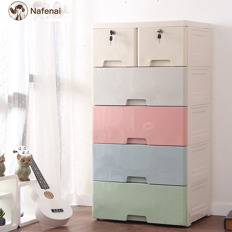 US $250.0 |Bedroom Furniture Plastic Wardrobe Storage Cabinet Childrens  Clothes Organizer Box Portable Rangement Closet Bedroom Storage box-in ...