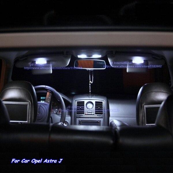 Deechooll 7pcs Car LED Light for Opel Astra J OPC Interior Lighting ...