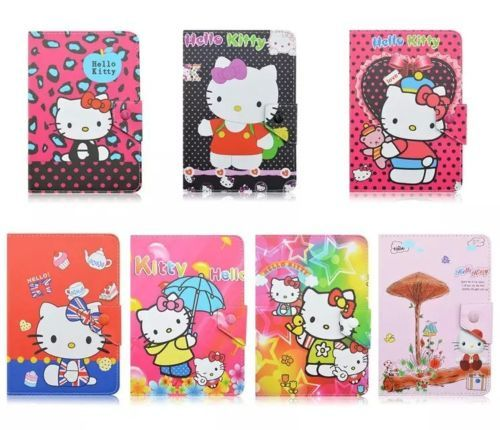 US $15 19 5% OFF|AIBOULLY Hello Kitty PU Leather Universal Case for IRULU  Walknbook 10 1 Inch / iClever 10 1 inch Windows 8 1 OS Tablet Stands-in