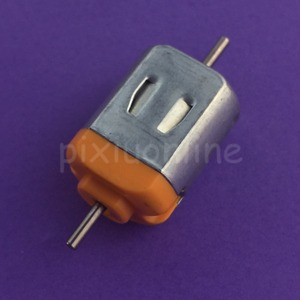 1 шт. J248Y Micro 130 двигатель постоянного тока двойной выход двигатель вала 3 В 15000 об/мин DIY модель машины